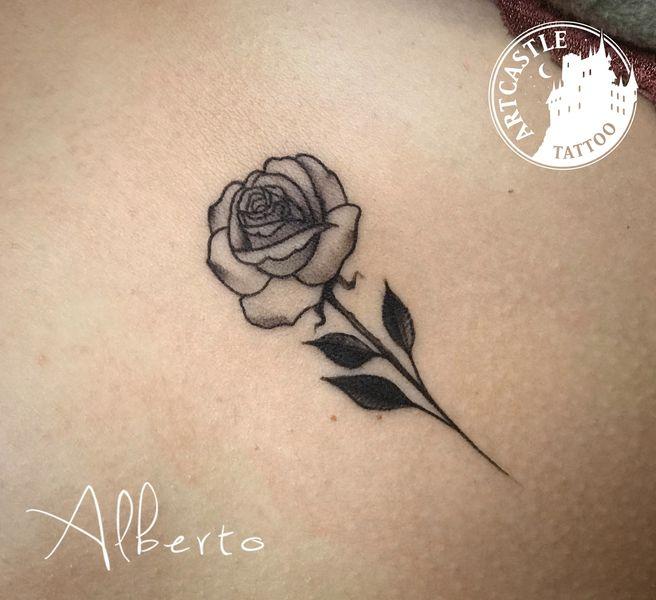 ArtCastleTattoo Tattoo ArtiestAlberto Rose Traditioneel Traditional