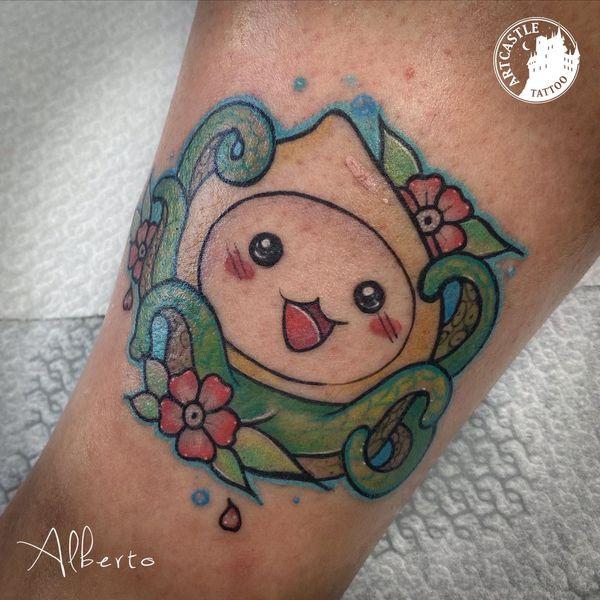 ArtCastleTattoo Tattoo ArtiestAlberto octopus on arm Kleur Color