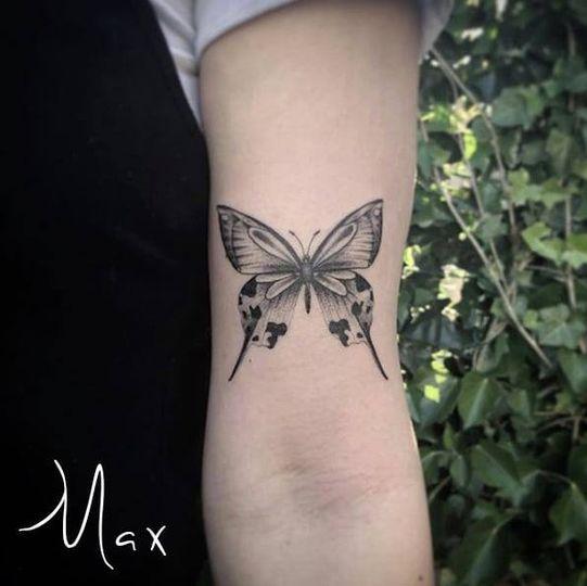 ArtCastleTattoo Tattoo ArtiestMax Butterfly on arm