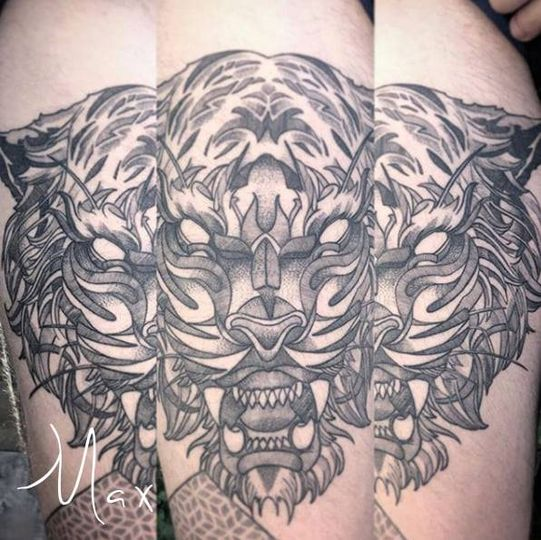 ArtCastleTattoo Tattoo ArtiestMax Tigerhear