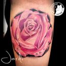 ArtCastleTattoo Tattoo ArtiestPrive Jordi Rose Color